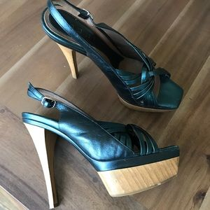 Marni wooden platforms size 39, worn once